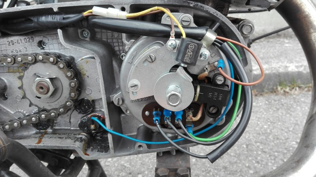 MZ ETZ 250 Gespann Vape Zündung