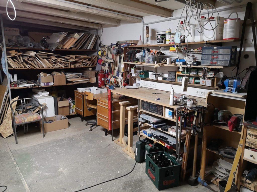 Kraftymats Werkstatt