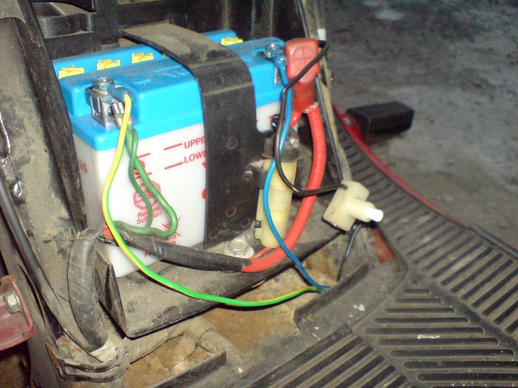Stereoanlage Verstärker in Roller einbauen 8