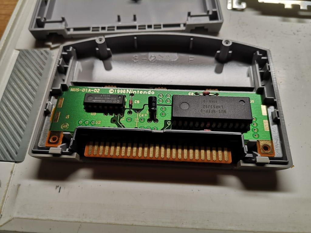 N64 Spiel Platine