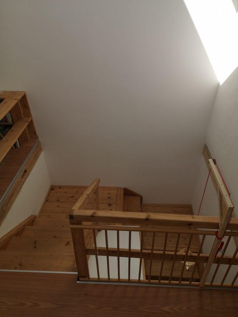 Alte Treppe restaurieren