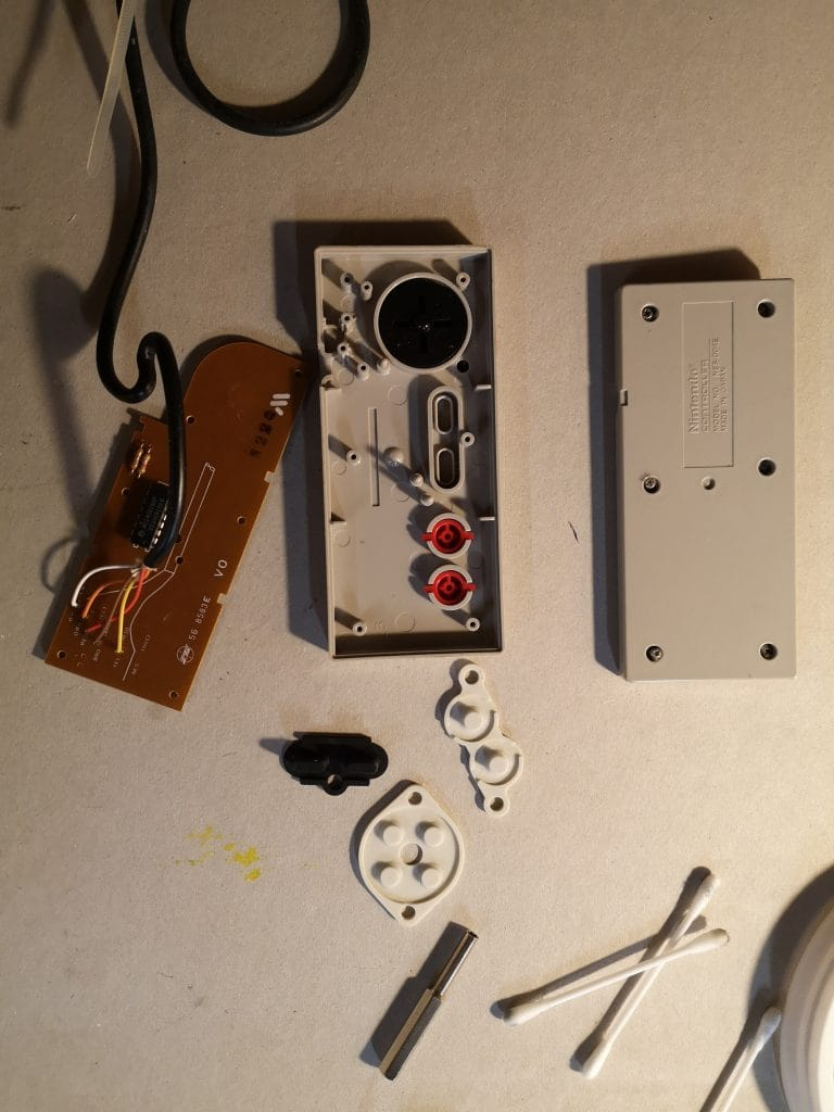 NES Controller Reparieren